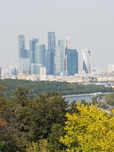 A view of Moscow from Sparrow Hill.