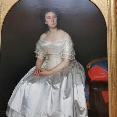 Sergei Zaryanko's Portrait of Princess Maria Vorontsova, 1851.
