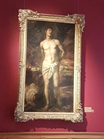 Titian's Saint Sebastian.