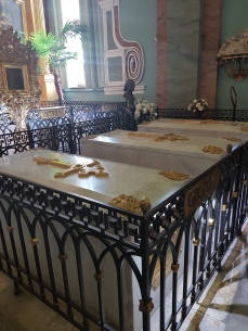 The tombs of some of the Tsars.