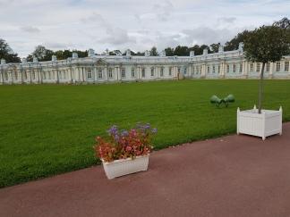 The servants' quarters are palatial.