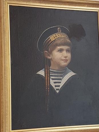 Tsar Nicholas' son Alexei, also murdered by the Bolsheviks.