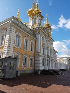 The Peterhof church.