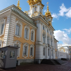 The Peterhof church.