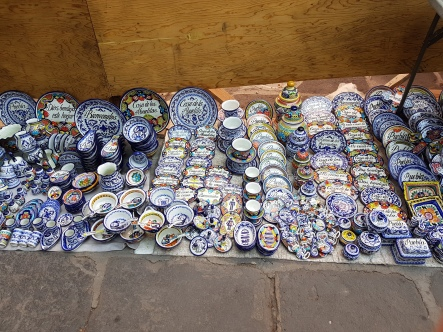 These are not authentic Talavera pieces but beautiful none the less.