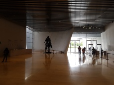 The spacious lobby.