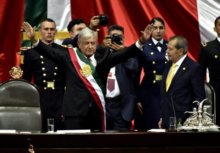 AMLO inauguration
