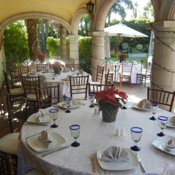 So many wonderful dinners at these tables.