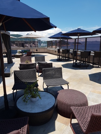 The roof top bar & lounge.