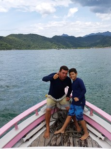I was thrilled to have an exclusive sailing with Captain Roque and his first mate, 9-year old Ignacio.