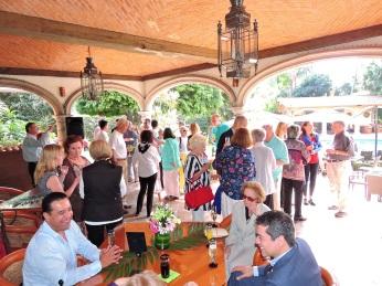 Friends of Ruth Geary gather at Restaurant Gusto January 14, 2019. Photo by Ignacio Alejandro Trujillo Estrada.