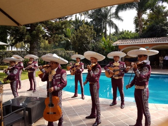 Ruth's favorite Mariachi entertained as the finale to the program. Photo by Ignacio Alejandro Trujillo Estrada.