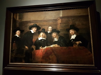 Part of the Rijksmuseum special Rembrandt exhibit.