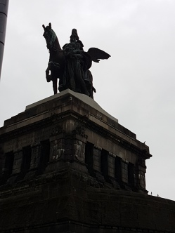 The equestrian monument to Kaiser Wilhelm I.
