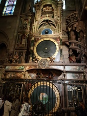 The famous astronomical clock.