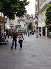Numerous pedestrial streets make the city tourist-friendly.