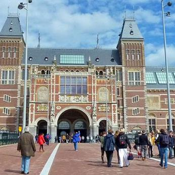 Amsterdam's Rijksmuseum, web photo.