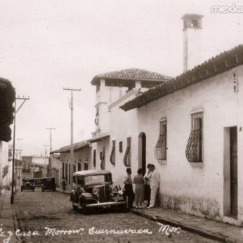 The Morrow Home, Casa Mañana, c 1935. Web photo.