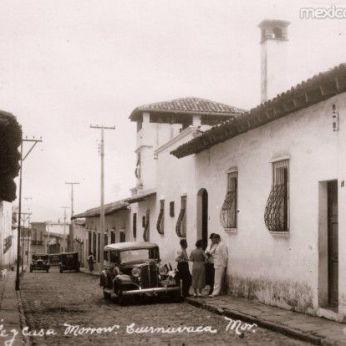 The Morrow Home, Casa Mañana, c 1935. Web photo.