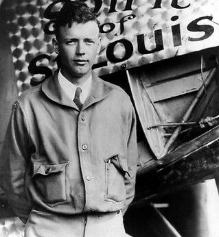 Charles Lindbergh, web photo.