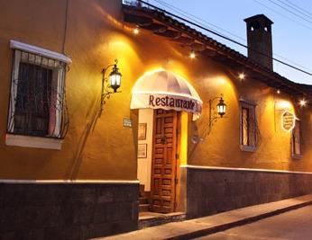Casa Mañana today, Restaurant India Bonita, from the restaurant's web page.