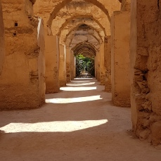 The Royal Stables in Meknes date from the 1600s.