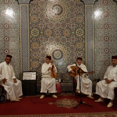 Musicians in the Palais la Medina