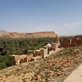 A remote village in the Ziz River Valley.