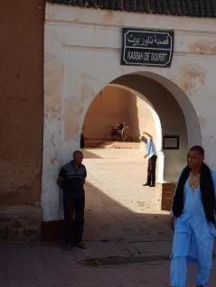 The Taourirt Kasbah.