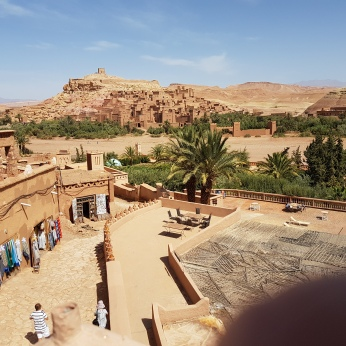 The Ait Benhaddou ksar or fortress near Ourzazate.