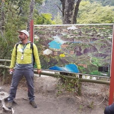 Local guide, Rafa, orients us before the hike.