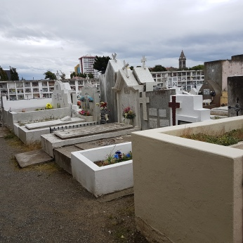 The municipal cemetery of Punta Arenas.