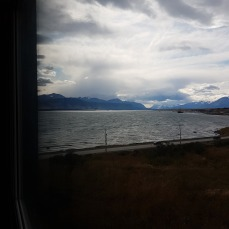 A great view of the fjord from my room.