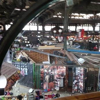 Santiago's Central Market.